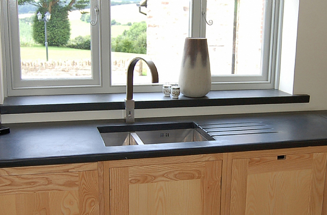 Architectural slate products - Worktop and cill