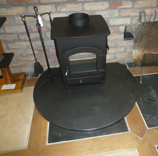 Architectural slate products - Hearth example three