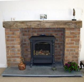 Architectural slate products - Hearth Example two.