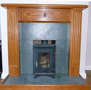 Architectural slate products - Hearth