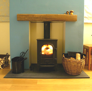 Architectural slate products - Hearth example four