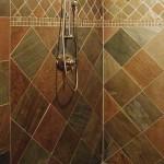 Copper Slate Shower