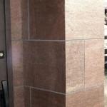 Honed Copper Pillar
