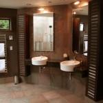 Honed Copper bathroom