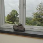 mm black brazillian slate window cills