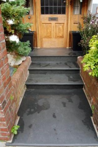 Brazilian Black And Grey Steps