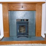 Slate Fireplace and Hearth