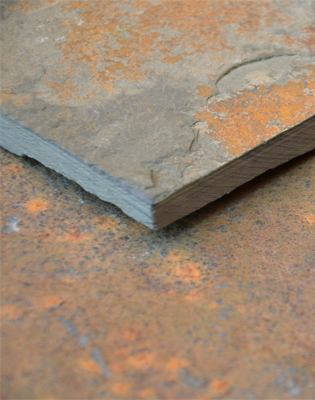 Rustic Brown Paving Swatch